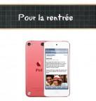 Concours gratuit : Spécial pour la rentrée, Un iPod Touch