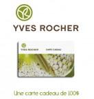 Concours gratuit : Spécial : Une carte cadeau d'une valeur de $100 chez Yves Rocher