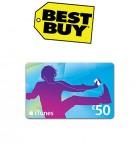 Concours gratuit : Spécial Best Buy : Une carte cadeau d'une valeur de $50 iTunes