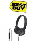 Concours gratuit : Spécial Best Buy : Un casque supra-auriculaire de Sony - Noir