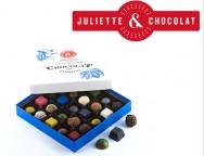 Concours gratuit : SPÉCIAL CHOCOLAT : Une boîte de chocolats de Juliette & Chocolat