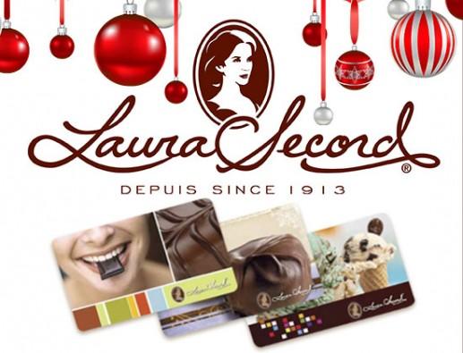 Concours gratuit : SPÉCIAL CHOCOLAT DE NOËL : Une carte-cadeau Laura Secord de 50$