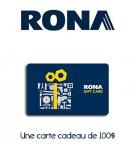 Concours gratuit : Spécial : Une carte cadeau d'une valeur de $100 chez Rona