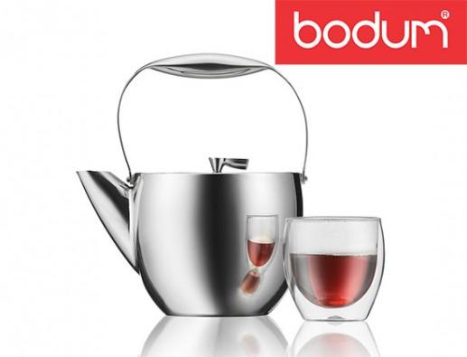 Concours gratuit : Spéciale Café : Une Théière à piston de Bodum