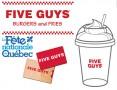 Concours gratuit : SPÉCIAL FÊTE DU QUÉBEC: Une Carte-cadeau Five Guys de 25$