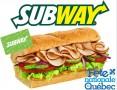 Concours gratuit : SPÉCIAL FÊTE DU QUÉBEC: Une Carte-cadeau Subway de 30$