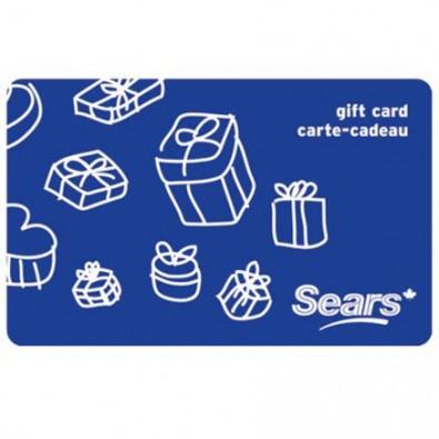 Concours gratuit : Gagnez une carte cadeau Sears de 25$