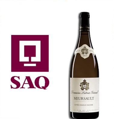 Concours gratuit : Spécial SAQ : Domaine Latour-Girud Mersault Cuvée Charles Maxime 2010
