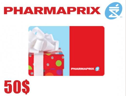 Concours gratuit : SPÉCIAL ÉPICERIE : Une Carte-cadeau Pharmaprix de 50$