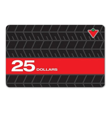 Concours gratuit : Gagnez une carte-cadeau de 25$ Canadian Tire