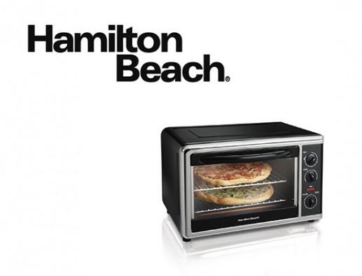 Concours gratuit : Spécial Petits Électroménagers : Un Four Posable Hamilton Beach !