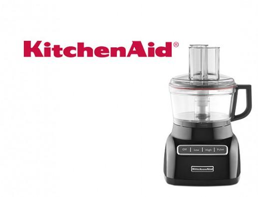 Concours gratuit : Spécial Petits Électroménagers : Un Robot Culinaire KitchenAid !