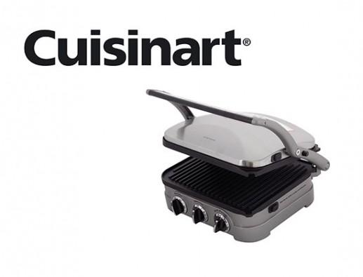Concours gratuit : Spécial Petits Électroménagers : Un Grill d'intérieur Cuisinart !