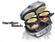 Concours gratuit : Spécial Petits Électroménagers : Un Presse-sandwichs petits-déjeuners double de Hamilton Beach