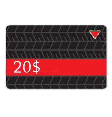 Concours gratuit : Gagnez une carte-cadeau de 20$ Canadian Tire