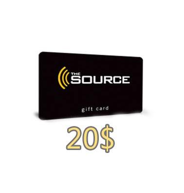 Concours gratuit : Gagnez une carte-cadeau La Source de 20$