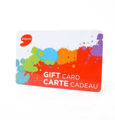 Concours gratuit : Gagnez une carte-cadeau DeSerres de 20$