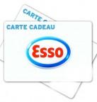 Concours gratuit : Gagnez une carte cadeau Esso de 20$