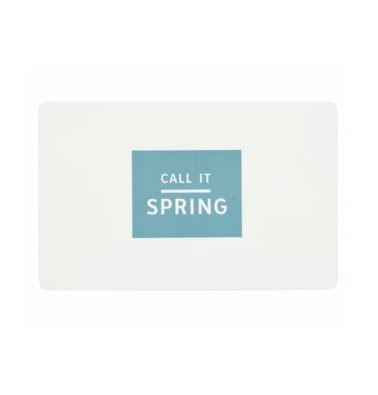 Concours gratuit : Gagnez une carte-cadeau Spring de $10