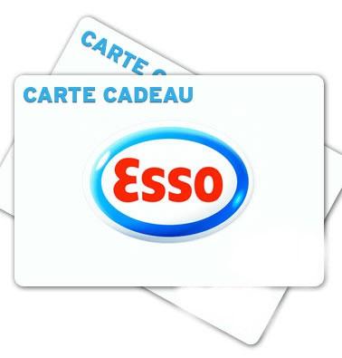 Concours gratuit : Gagnez une carte cadeau Esso de 10$