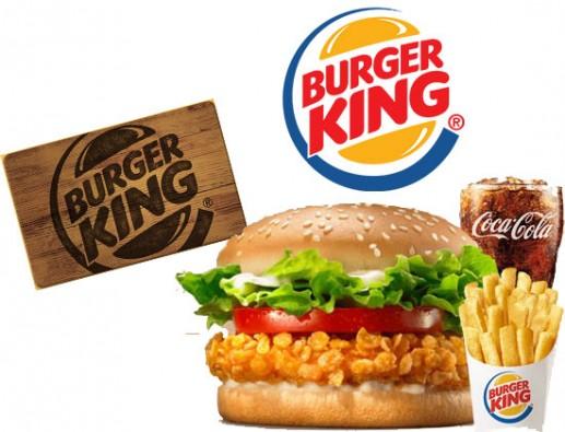 Concours gratuit : SPÉCIAL RESTOS: Une Carte-cadeau Burger King de 10$