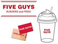 Concours gratuit : SPÉCIAL RESTOS : Une Carte-cadeau Five Guys de 10$