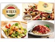 Concours gratuit : SPÉCIAL RESTOS: Une Carte-cadeau Mikes de 10$