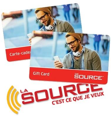 Concours gratuit : Gagnez une carte-cadeau La Source de 10$