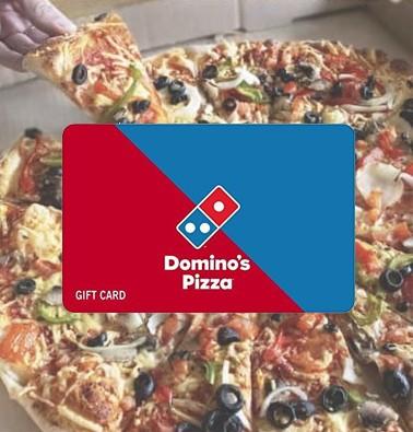Concours gratuit : Une Carte-cadeau Domino's de 10$