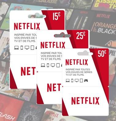 Concours gratuit : Gagnez une carte-cadeau Netflix de 15$