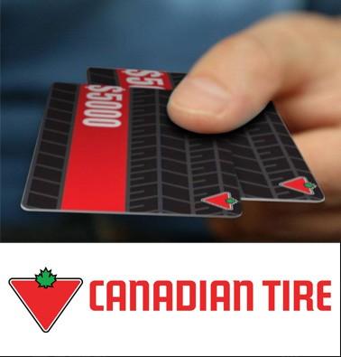 Concours gratuit : Une carte-cadeau Canadian Tire de 25$
