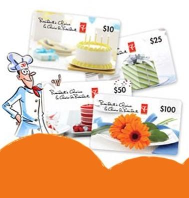 Concours gratuit : Une carte cadeau Le Choix du Président de 10$