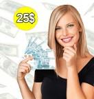 Concours gratuit : Un prix de 25$ en argent comptant