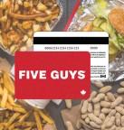 Concours gratuit : Une Carte-cadeau Five Guys de 10$