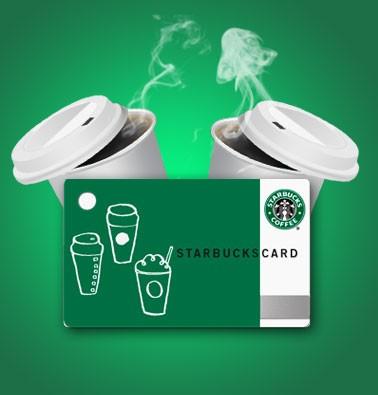 Concours gratuit : Une carte Starbucks Coffee de 25$